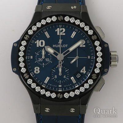 ウブロ ビッグ・バン セラミック ブルー ダイヤモンド Ref.341.CM.7170.LR.1204
