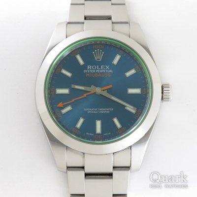 ロレックス ミルガウス Ref.116400GV