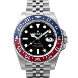 ロレックス GMTマスターII Ref.126710BLRO 赤/青ベゼル