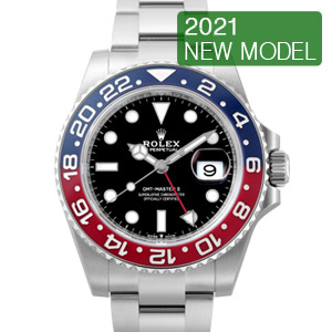 ロレックス GMTマスターII Ref.126710BLRO