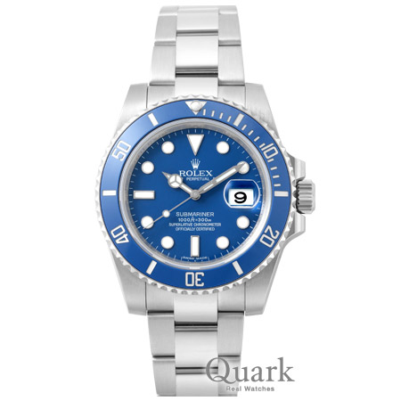 buy popular 39376 591a9 ロレックス サブマリーナー Ref.116619LB ブルー 新品 ...