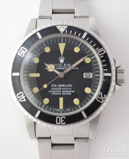 cheap for discount 50668 78d98 ロレックス シードゥエラー Ref.1665 ブラック ヴィンテージ ...