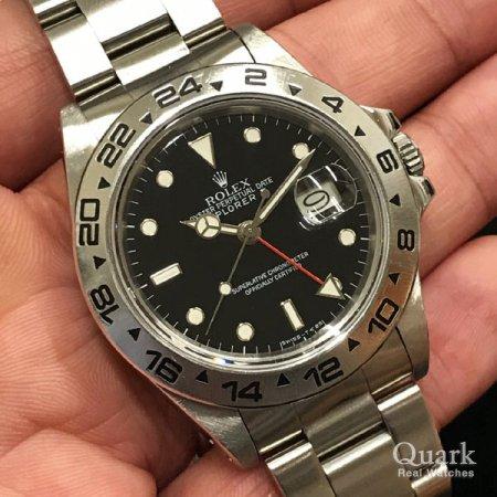 huge selection of 470a5 bd18c ロレックス エクスプローラーII Ref.16550 ブラック ...