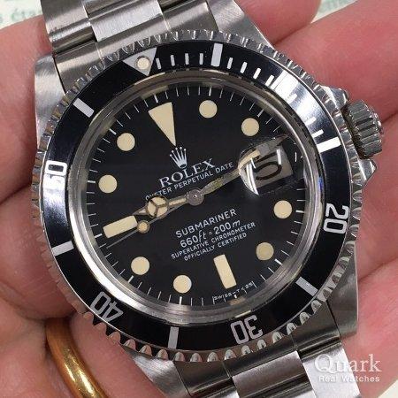 huge discount 20c3e f9c0f ロレックス サブマリーナー Ref.1680 ブラック ヴィンテージ ...