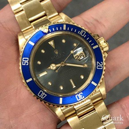 huge discount 61eca 2d490 ロレックス サブマリーナー Ref.16808 ブルー ヴィンテージ ...