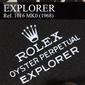 ロレックス エクスプローラーI 1016 ブラックダイヤル 0型ダイヤル