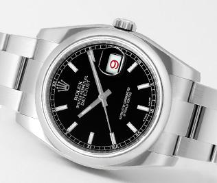 009de2f95de9 Ref.116200 ブラック ダイヤル 買取価格 ~50万円 ロレックス ターノグラフ