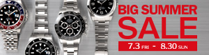 BIG SUMMER SALE 7.3 金 - 8.30 日