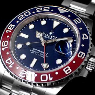 ROLEX GMT-MASTER II Ref.126719BLRO / Ref.116719BLRO