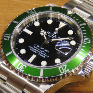 ROLEX SUBMARINER Ref.16610LV