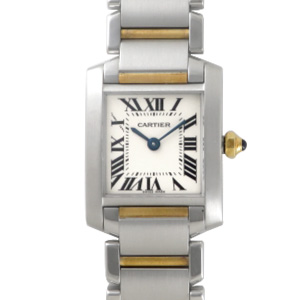 Cartier タンクフランセーズSM コンビ W51007Q4