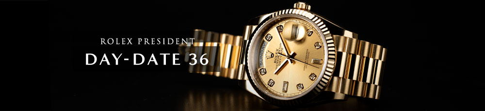 ROLEX PRESIDENT DAY-DATE 36